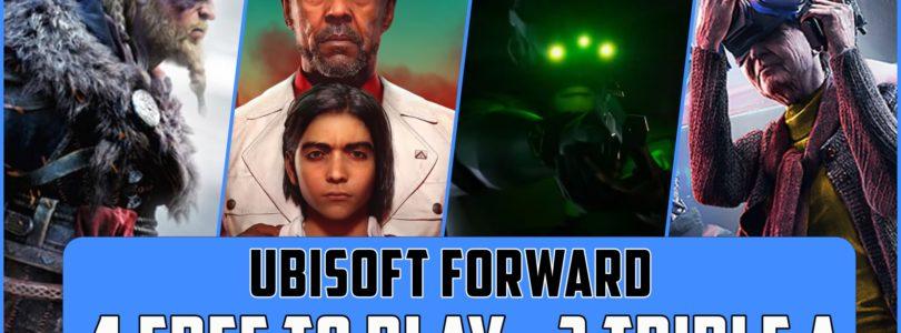 Vídeo Resumen: Ubisoft Forward – Detalles y fechas