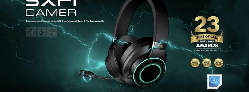Analizamos los últimos auriculares Creative SXFI Gamer