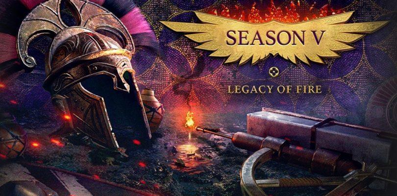 Llega la temproada 5 de Conqueror's Blade cargada de recompensas y nuevas unidades