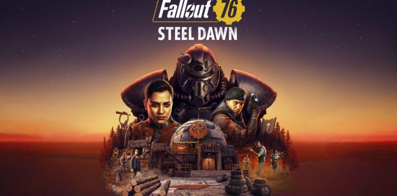 La Hermandad del Acero llega al Yermo en el nuevo tráiler de Fallout 76