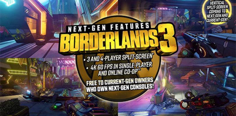 La actualización de Borderlands® 3 estará disponible cuando lleguen las nuevas consolas