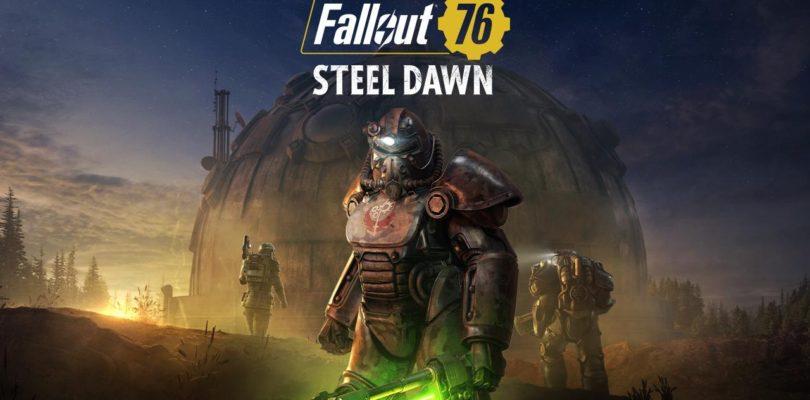 La actualización del Amanecer de Acero llega antes de los esperado a Fallout 76