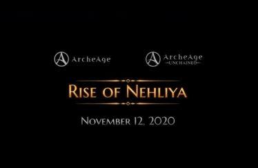 Gamigo comparte el tráiler y las notas del parche de ArcheAge Rise of Nehliya