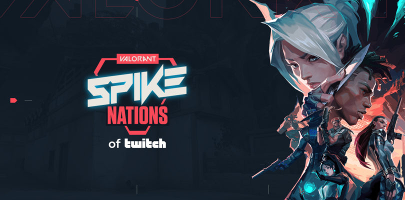 Spike Nations de Twitch es la primera competición oficial europea de Valorant, junto a la plataforma de streaming de Amazon