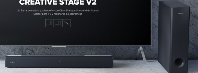 Probamos la Creative Stage V2, una barra de sonido económica y recomendable para PC y TV