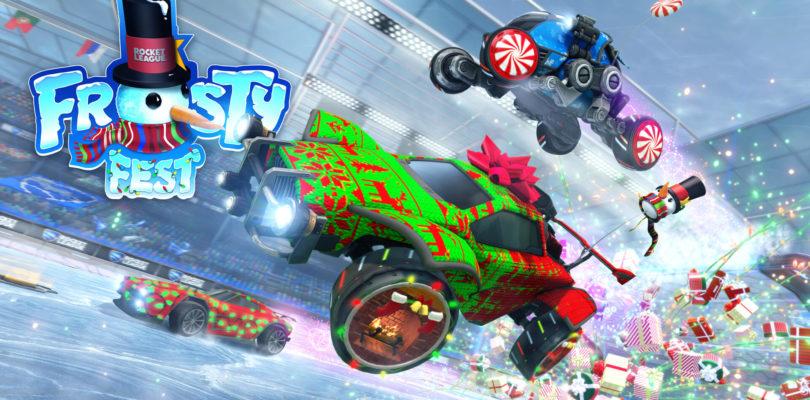 El Frosty Fest vuelve a Rocket League el 14 de diciembre