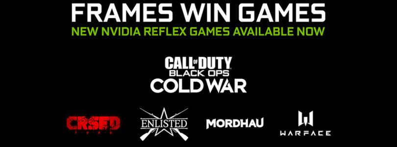 NVIDIA añade la tecnología Reflex a 4 nuevos juegos