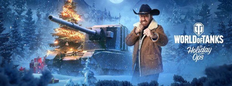 Chuck Norris llega a World of Tanks para celebrar las fiestas
