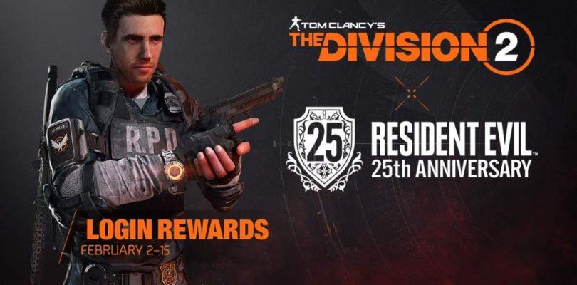Celebra los 25 años de Resident Evil en The Division 2