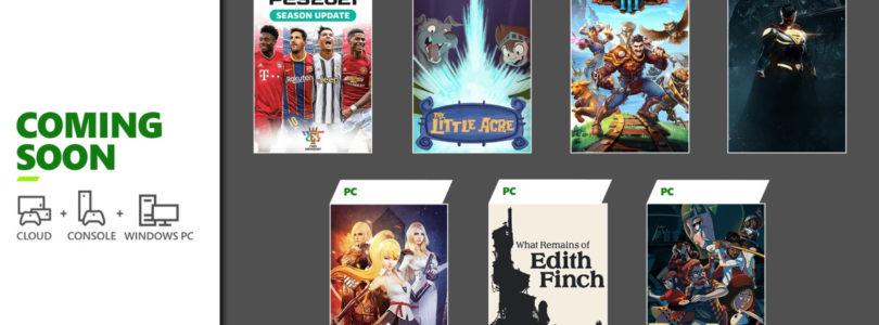 Anunciados los primeros juegos de 2021 añadidos al catálogo de Xbox Game Pass para consola, PC y Android