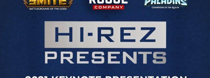 Hi-Rez nos presenta las novedades que llegarán a SMITE, Rogue Company y Paladins este 2021