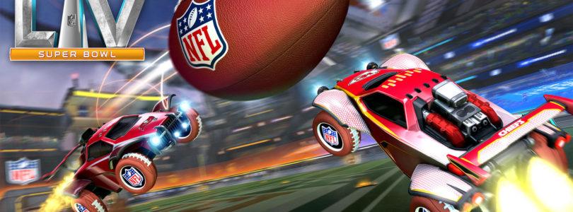 El 2 de febrero llega el evento de la Super Bowl LV a Rocket League