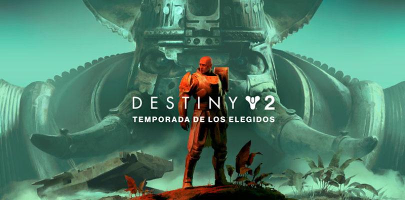 El 9 de febrero llega a Destiny 2 la Temporada de los Elegidos