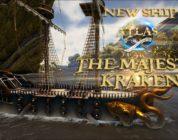 Atlas introduce un nuevo barco el 'Majestic Kraken'