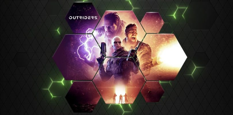 La demo de Outriders llega a GeForce NOW con 11 nuevos juegos