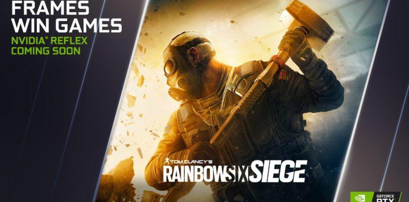 NVIDIA Reflex llega a Rainbow Six Siege