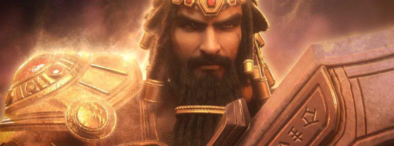 El rey Gilgamesh se enfrenta a Tiamat en el nuevo tráiler de SMITE