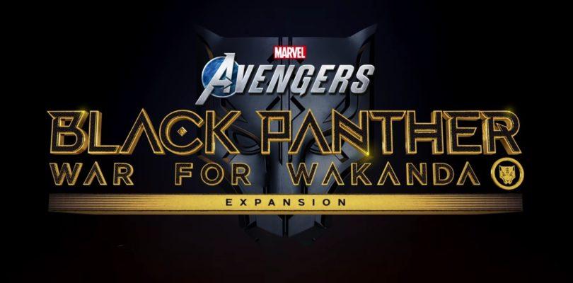 Marvel's Avengers nos presenta su hoja de ruta y anuncia la llegada de Black Panther
