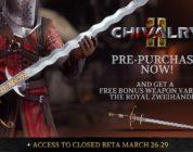 La beta cerrada multiplataforma de Chivalry 2 abre sus puertas