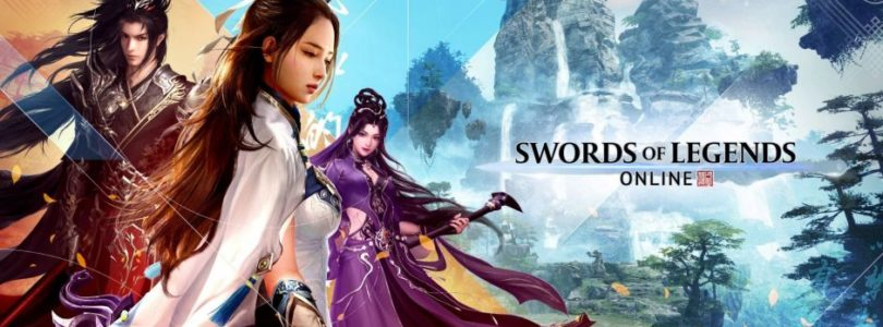Swords of Legends Online muestra la clase Spellsword