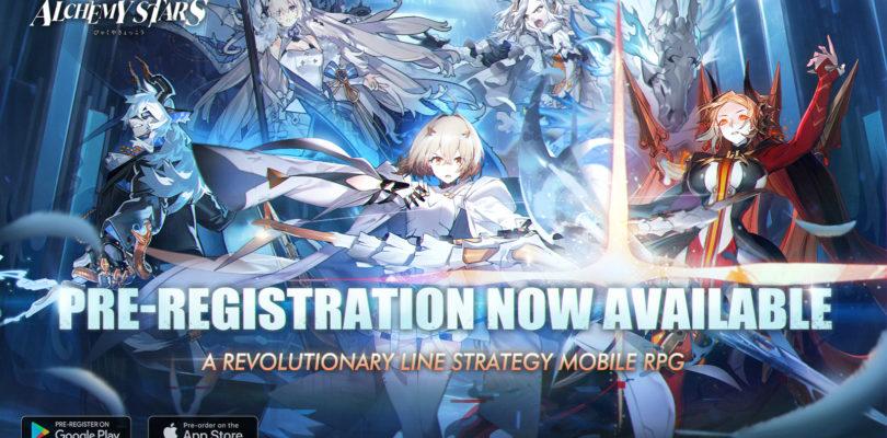 El registro anticipado para el nuevo juego de rol de Tencent Games, Alchemy Stars, comienza hoy