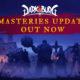 Darksburg recibe hoy la actualización Masterie
