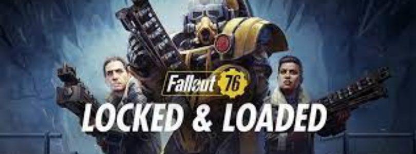 Ya está disponible la actualización «Cargado y a punto» de Fallout 76