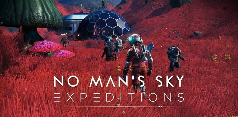Las expediciones llegan a No Man's Sky como parte de su nueva gran actualización de contenido