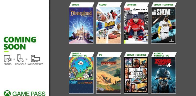 GTA V, Zombie Army 4, NHL 21 y otros llegan a primeros de abril al Xbox Game Pass
