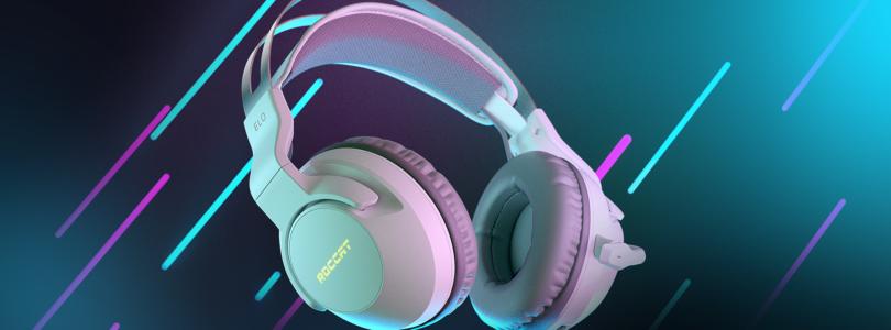 Los auriculares inalámbricos Elo 7.1 Air de Roccat ya están disponibles en blanco