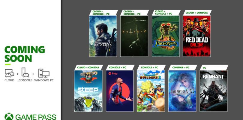 Xbox Game Pass anuncia la llegada de Red Dead Online, Final Fantasy X/X-2, FIFA 21 y más