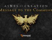 El diseñador principal de Ashes of Creation abandona la compañía