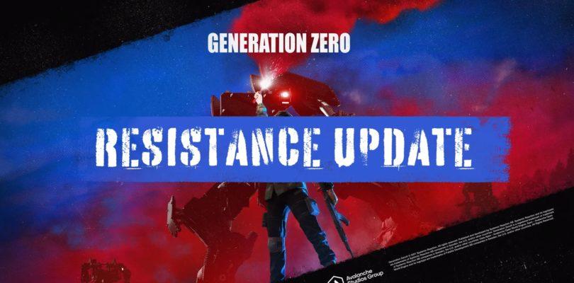Construye tu base y defiéndela de oleadas de máquinas en la nueva actualización de Generation Zero