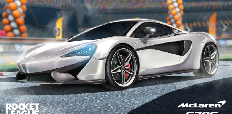 Vuelve el McLaren 570S a Rocket League