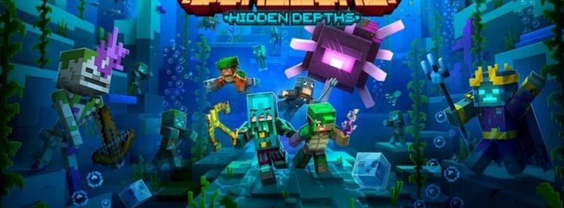 Sumérgete en las profundidades con el nuevo DLC de Minecraft Dungeons