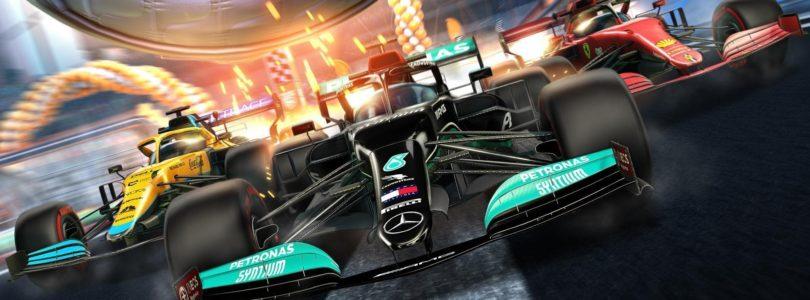 Colaboración entre Rocket League y la Fórmula 1 nos trae 10 diseños de monoplazas de este 2021