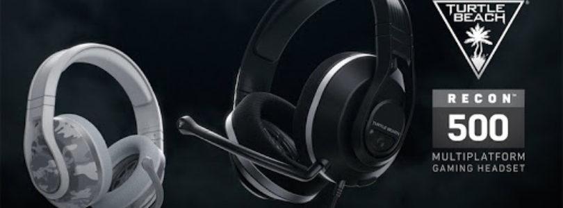 Turtle Beach presenta los auriculares Recon 500 en dos colores