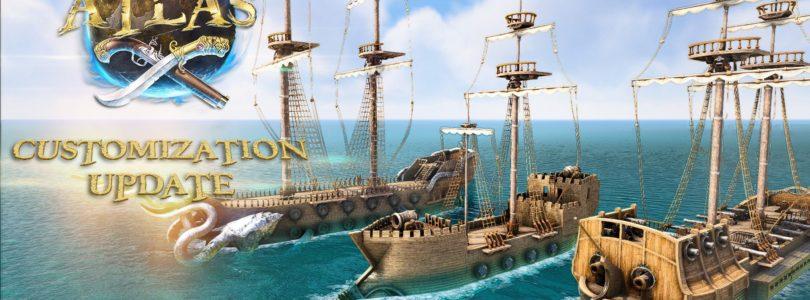 El nuevo barco con mortero de Atlas te permitirá asediar islas
