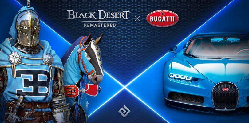 ¿BUGATTI en Black Desert Online? Pearl Abyss lo ha hecho posible