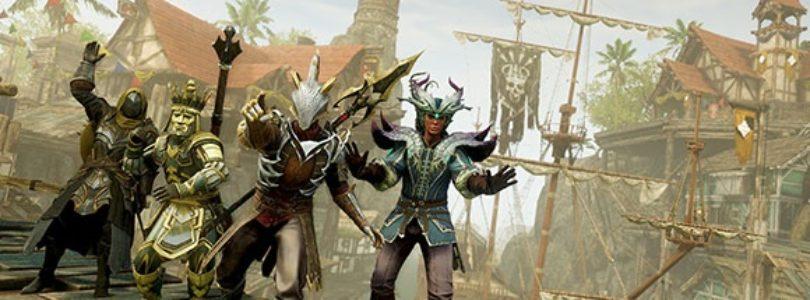 New World nos enseña sus nuevos set de armadura en una simpática pasarela de moda