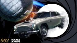 El Aston Martin de James Bond llega a Rocket League