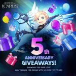 Riders of Icarus celebra su 5º aniversario