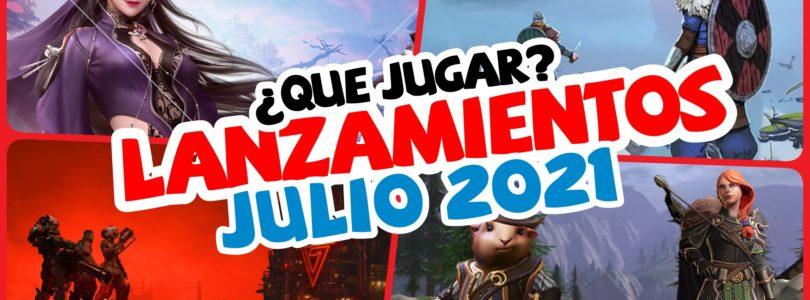 Lanzamientos JULIO 2021 – Nuevos MMOs, Co-op, ARPGS…