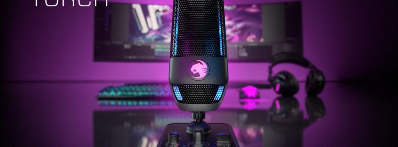 Roccat anuncia su micrófono USB con RGB gaming, Torch