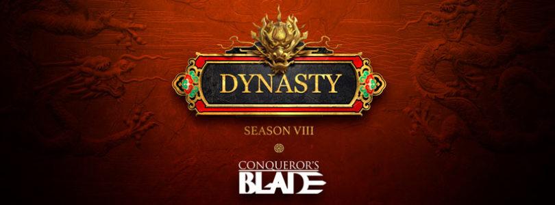 La nueva temporada de Conqueror's Blade, Season VIII: Dynasty, llega el 8 de julio