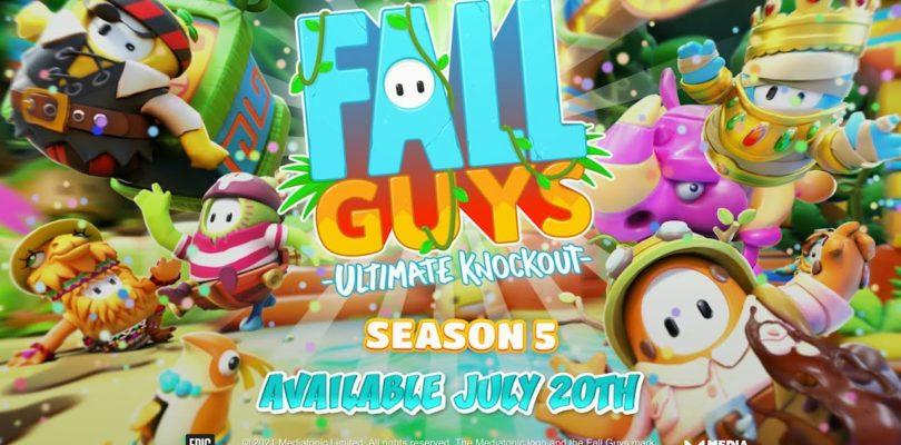 ¡Arranca la temporada 5 de Fall Guys!