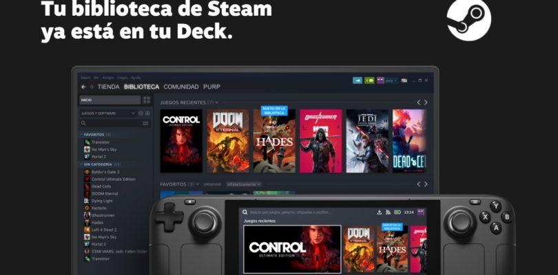 Steam presenta su consola de juegos portátil capaz de ejecutar el catálogo de juegos AAA