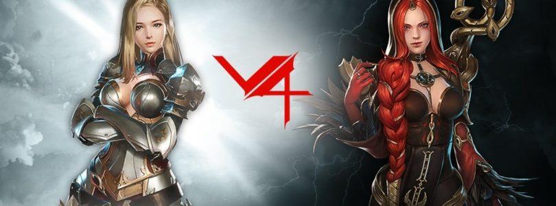 El MMORPG V4 celebra su primer aniversario con nuevo tráiler, eventos de recompensas y fusión global