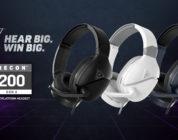 Turtle Beach anuncia los nuevos auriculares multiplataforma RECON 200 Gen