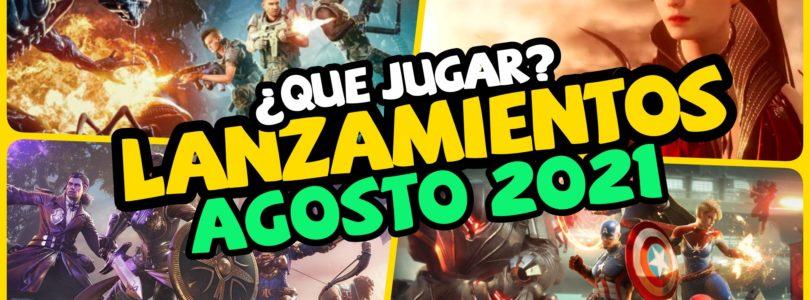 Calendario – Lanzamientos y eventos AGOSTO 2021 – Nuevos MMOs, Co-op, Battle Royale..